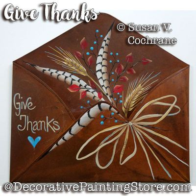 Give Thanks ePattern - Susan Cochrane