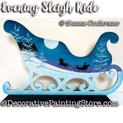 Evening Sleigh Ride ePattern - Susan Cochrane