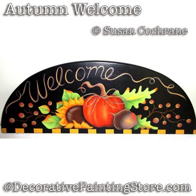 Autumn Welcome ePattern - Susan Cochrane
