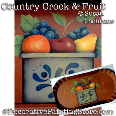 Country Crock and Fruit PDF DOWNLOAD - Susan Cochrane