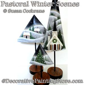 Pastoral Winter Scene DOWNLOAD - Susan Cochrane