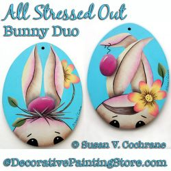 All Stressed Out Bunny Duo DOWNLOAD - Susan Cochrane