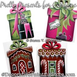 Pretty Presents for Everyone PDF DOWNLOAD Painting Pattern - Susan Cochrane