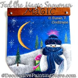 Feel the Magic Snowman DOWNLOAD - Susan Cochrane