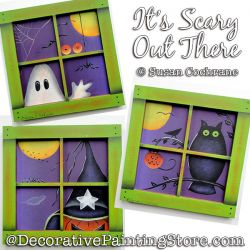 Its Scary Out There Painting Pattern PDF Download - Susan Cochrane