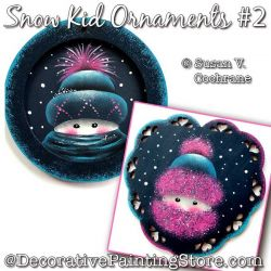 Snow Kid Ornaments #2 Painting Pattern PDF Download - Susan Cochrane