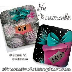 Ho Ornaments Painting Pattern PDF Download - Susan Cochrane