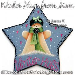 Winter Hugs from Mom Painting Pattern PDF Download - Susan Cochrane