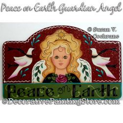 Peace on Earth Guardian Angel Painting Pattern PDF DOWNLOAD - Susan Cochrane