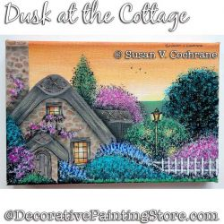 Dusk at the Cottage Painting Pattern PDF DOWNLOAD - Susan Cochrane