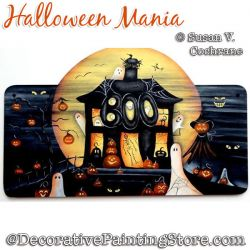 Halloween Mania Painting Pattern PDF DOWNLOAD - Susan Cochrane