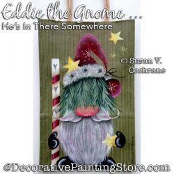 Eddie the Gnome Painting Pattern PDF DOWNLOAD - Susan Cochrane
