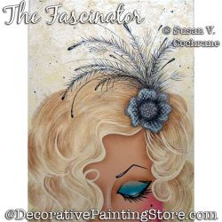 The Fascinator Painting Pattern PDF DOWNLOAD - Susan Cochrane