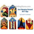 Just Hanging Around Gift Tags ePattern - Susan Cochrane