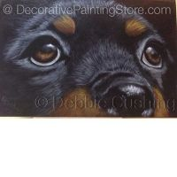 Brutus Rottweiler Puppy ePattern - Debbie Cushing - PDF Download