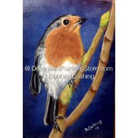 European Robin ePattern - Debbie Cushing - PDF Download