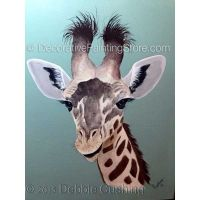 Heres Looking at You Giraffe ePattern - Debbie Cushing - PDF Download