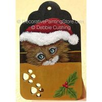 Santa Kitty ePattern - Debbie Cushing - PDF Download