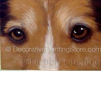 Sheltie Eyes ePattern - Debbie Cushing - PDF Download