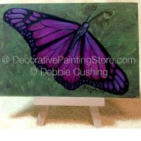 Violet Butterfly ePattern - Debbie Cushing - PDF Download