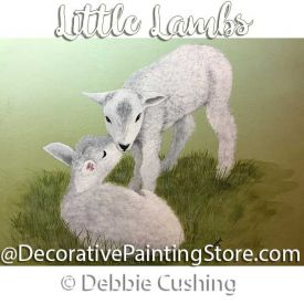 Little Lambs ePattern - Debbie Cushing - PDF Download