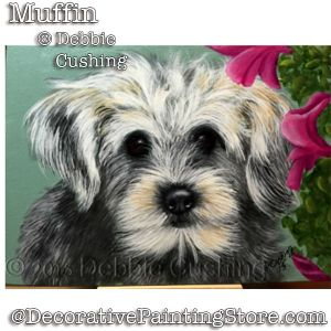 Muffin (White & Grey Dog) Download - Debbie Cushing