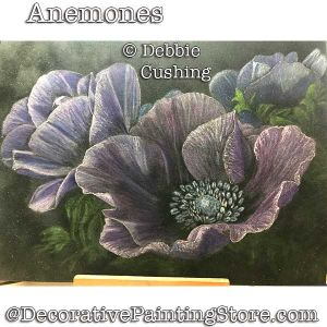 Anemones (Colored Pencil) Download - Debbie Cushing