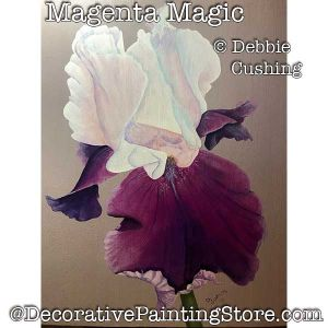 Magenta Magic (Iris) Download - Debbie Cushing