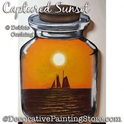 Captured Sunset Download - Debbie Cushing
