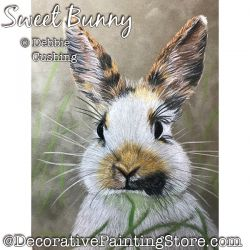 Sweet Bunny (Rabbit) Colored Pencil Download - Debbie Cushing