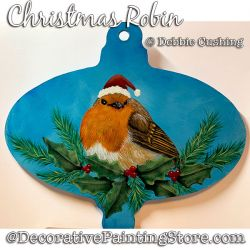 Christmas Robin (Bird) Download - Debbie Cushing