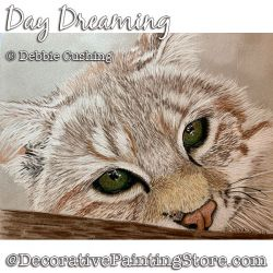 Day Dreaming (Cat) Download - Debbie Cushing