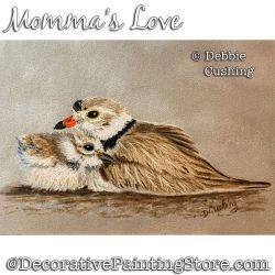 Mommas Love Colored Pencil Painting Pattern Download - Debbie Cushing