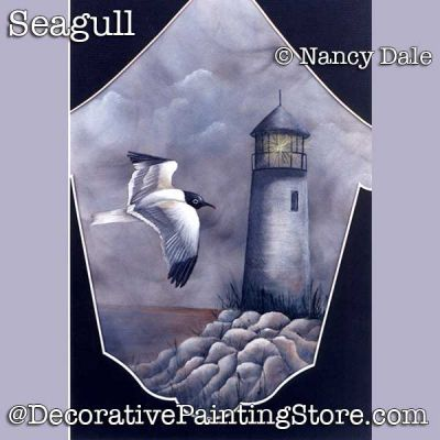 Seagull DOWNLOAD Painting Pattern - Nancy Dale