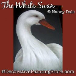 The White Swan DOWNLOAD Painting Pattern - Nancy Dale