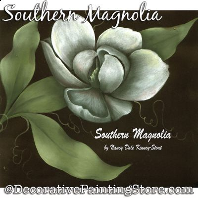 Southern Magnolia DOWNLOAD Painting Pattern - Nancy Dale
