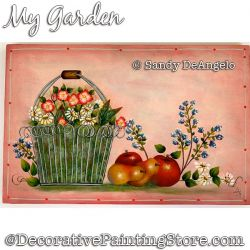 My Garden Painting Pattern PDF DOWNLOAD - Sandy DeAngelo