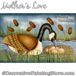 Mothers Love Painting Pattern PDF DOWNLOAD - Sandy DeAngelo