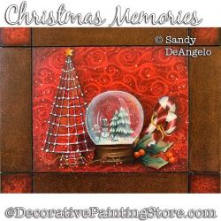 Christmas Memories Painting Pattern PDF DOWNLOAD - Sandy DeAngelo