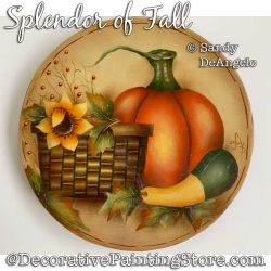 Splendor of Fall Painting Pattern PDF DOWNLOAD - Sandy DeAngelo