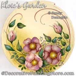 Kloies Garden Painting Pattern PDF DOWNLOAD - Sandy DeAngelo
