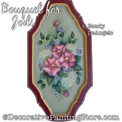 Bouquet for Jodi Painting Pattern PDF DOWNLOAD - Sandy DeAngelo