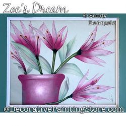 Zoes Dream Painting Pattern PDF DOWNLOAD - Sandy DeAngelo
