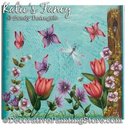 Katies Fancy Painting Pattern PDF DOWNLOAD - Sandy DeAngelo