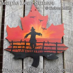 Maple Leaf Sunset DOWNLOAD - Debra Mills