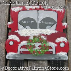 Christmas Truck DOWNLOAD - Debra Mills
