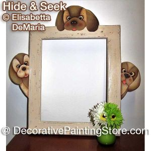 Hide and Seek Frame - Elisabetta DeMaria - PDF DOWNLOAD