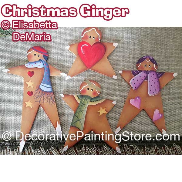 Christmas Ginger - Elisabetta DeMaria - PDF DOWNLOAD