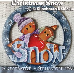 Christmas Snow - Elisabetta DeMaria - PDF DOWNLOAD
