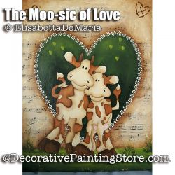 The Moo-sic of Love e-Pattern - Elisabetta DeMaria - PDF DOWNLOAD